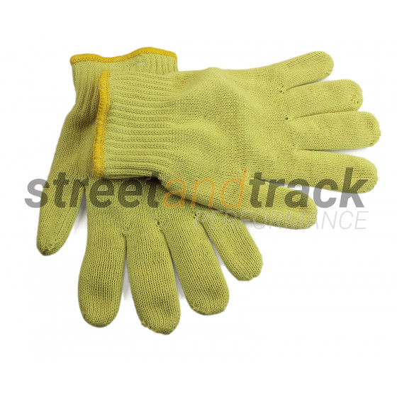 2x Hitzeschutz Schnittschutz Arbeits Handschuhe Schutzhandschuhe EN 388 EN 407