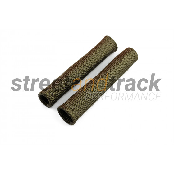 2x Basalt Hitzeschutz Schlauch Kabel schutz Zünd kerzen Stecker Turbo Titan
