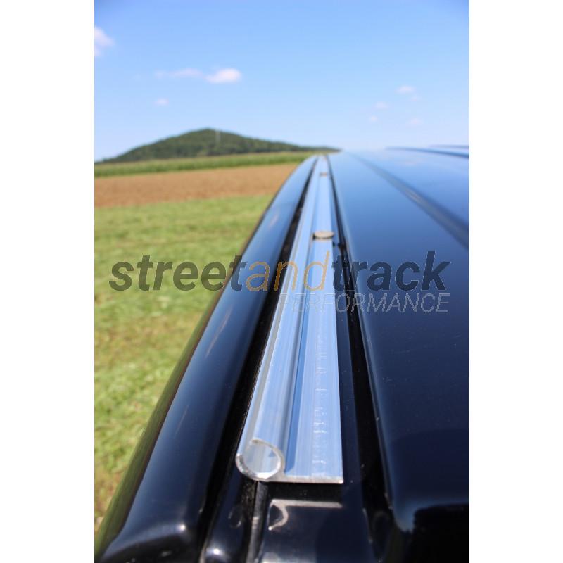 streetandtrack 2X Dachtr/äger Adapter Set f/ür VW Bus T5+T6 zur Befestigung auf Kederschiene