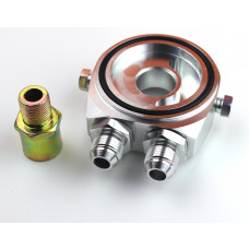 Ölfilter Adapter Ölkühler AN10+Öldruck,Öltemperatur 1/8 NPT 3/4-16, M18, M20,M22