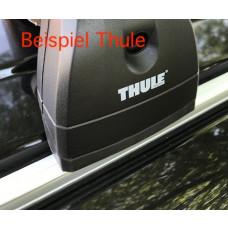 2x Dachträger Adapter Set für VW Bus T5+T6 zur Befestigung auf Kederschiene