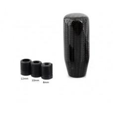 Echt Carbon Schaltknauf 8,10,12mm Universal Karbon Shift Knob