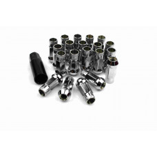 Steel Lug Nuts Stahl Radmuttern CHROM M12x1.5 Honda,Toyota,Mazda,Ford,Mitsubishi