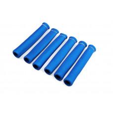 6x Fiberglas Hitzeschutz Schlauch Kabel schutz Zünd kerzen Stecker Turbo Titan