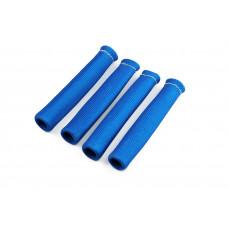 4x Fiberglas Hitzeschutz Schlauch Kabel schutz Zünd kerzen Stecker Turbo Titan