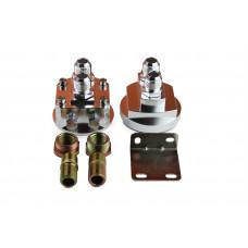 Externer Ölfilter Adapter versetzen Platzmangel Relocation AN10 # 3/4-16 und M20