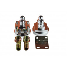 Externer Ölfilter Adapter versetzen Platzmangel Relocation AN8 ## 3/4-16 und M20