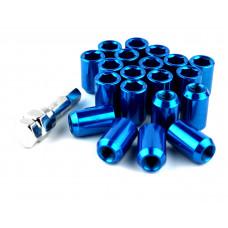 Steel Lug Nuts Stahl Radmuttern BLAU M12x1.25 Nissan, Subaru, Suzuki,etc. JDM